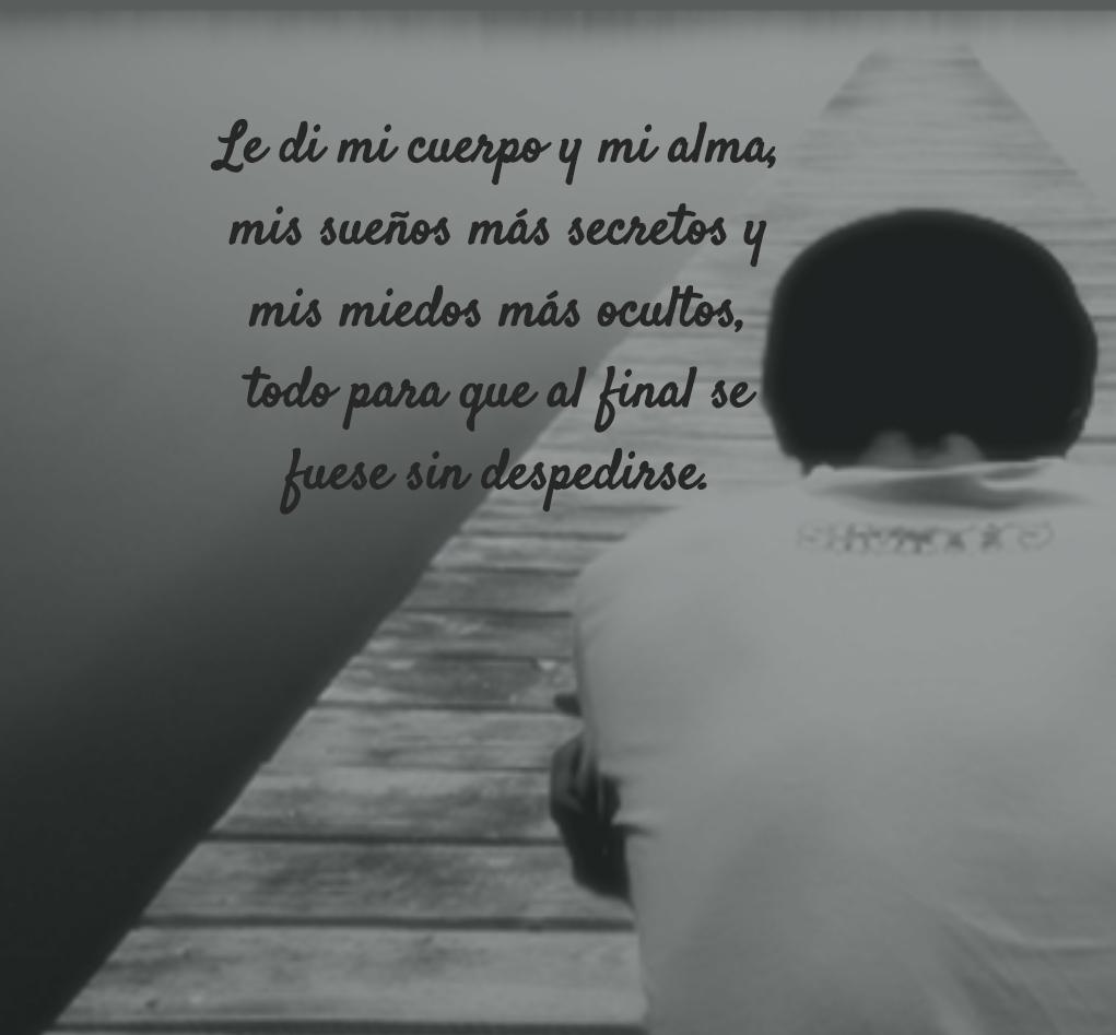 Frases de tristeza CONMOVEDORAS (con imágenes)